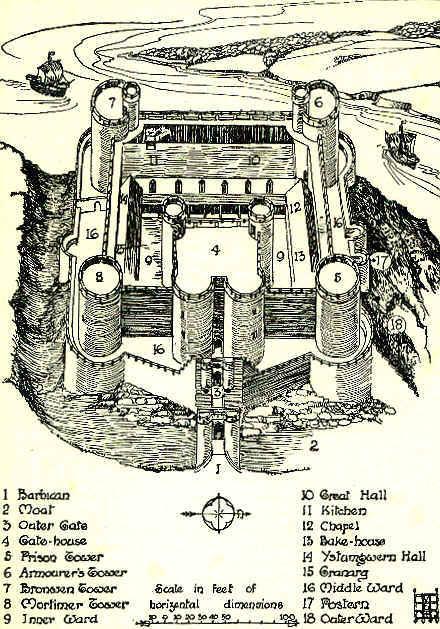 В 1986 году замок Харлех вошёл